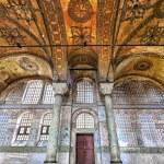 Detail fron the inside of Hagia Sophia — Stock Photo #23292600
