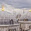 Istanbul landmarks - Stock Photo