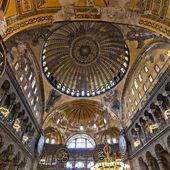 Inside Hagia Sophia — Stock Photo