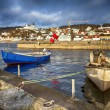 Small traditional fishing village in sweden — Stock Photo