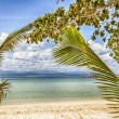 Tropic beach landscape — Stock Photo
