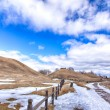 Gamla Uppsala burial mounds — Stock Photo