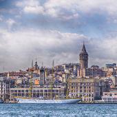 Galata tower Istanbul — Stock Photo
