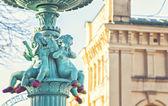 Angel fountain — Stock Photo