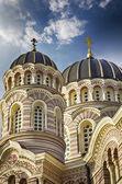 Riga orthodoxe kathedrale — Stockfoto