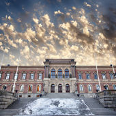 Uppsala university library — Stock Photo