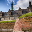 Danish castle Kronborg — Stock Photo