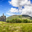 Stock Photo: Kilchurn castle ruin