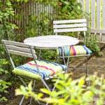 Garden seating area — Stock Photo #29299435