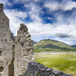 Loch Awe and Kilchurn Castle — Stock Photo