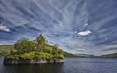 Loch Katrine landscape — Stock Photo
