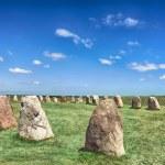 Standing stones — Stock Photo