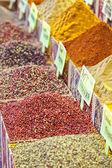 Spice market pepper corns — Stock Photo