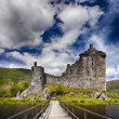 Kilchurn castle Scotland — Stock Photo