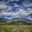 Stock Photo: Scotland Loch Awe mountain landscape