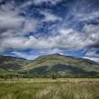 Scotland Loch Awe mountain landscape — Stock Photo