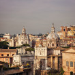 Stock Photo: City of Rome at dusk