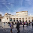 Stock Photo: Vatican and St. Peters square