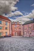 Citadel courtyard — Zdjęcie stockowe