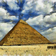 Stock Photo: Great Pyramid of Egypt