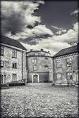 Citadel courtyard — Stock Photo