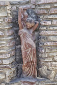 Frau Statue auf Kreta — Stockfoto