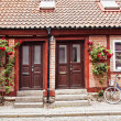 Cottage townhouses in Lund — Stock Photo #48934297