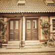 Cottage townhouses in Lund — Stock Photo #50727279