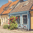 Ystad cottages — Stock Photo #50727337