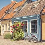 Ystad cottages — Stock Photo