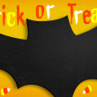 Bat - Trick or treat — Stock Photo #12578976