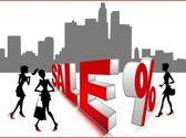 Sale discount — Stock Photo