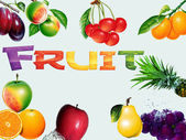 Fruit collge — Stock Photo