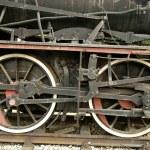 Old train on the platform — Stock Photo #7643001