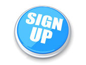 Sign up Button — Stock Photo