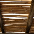 Stock Photo: Bamboo roof