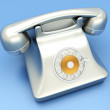 Classic Telephone - Stock Photo