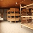 Stock Photo: Dormitory in Dachau Concentration camp memorial