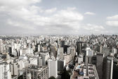 Horizonte de sao paulo — Foto de Stock