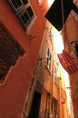 улица в чинкве терре — Стоковое фото