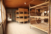 Dormitory in the Dachau Concentration camp memorial — Stock Photo