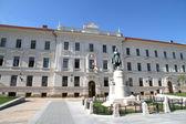 历史建筑的胸肌,匈牙利 — 图库照片