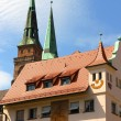 Historic Buildings in Nuremberg — Stock Photo #13839323