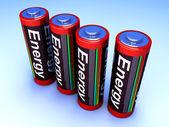 Batteries — Stock Photo