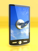 Locked Smartphone — Stock Photo
