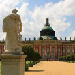 New Palace in the Park Sanssouci - Stock Photo