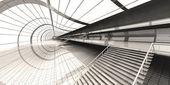 Letiště architektura — Stock fotografie