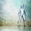 Stock Photo: Metal Man