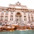 Trevi Fountain - Stock Photo