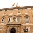 Palau de Generalitat in Barcelona - Stok fotoraf